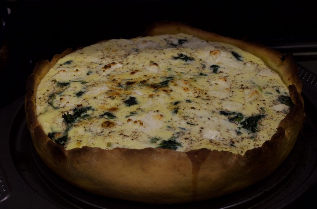 Quiche Epinards Chèvre